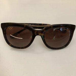 Tory Burch Tortoise Cat Eye Sunglasses